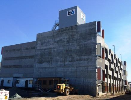 MTV Parking Structure Completed